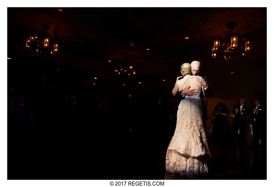 Father-Daughter Dance at a Wedding Reception